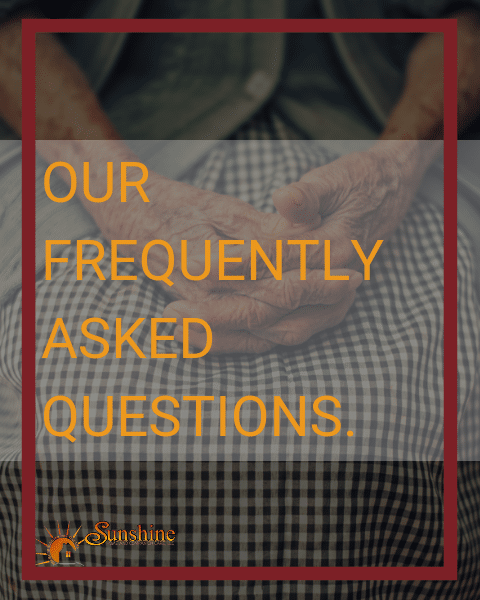 Our Frequently asked questions