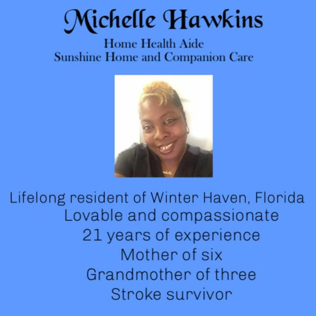 Michelle Hawkins Home Health Aide