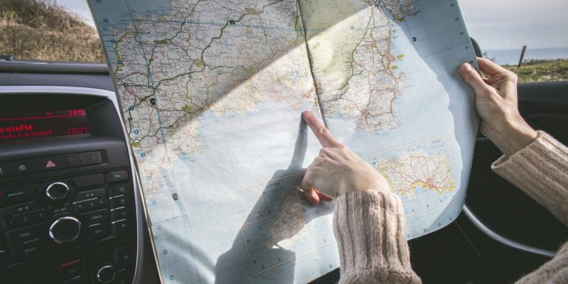 Traveling with a map - Out of town home care